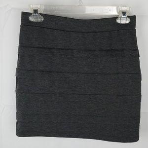 Basic House Grey Mini Skirt